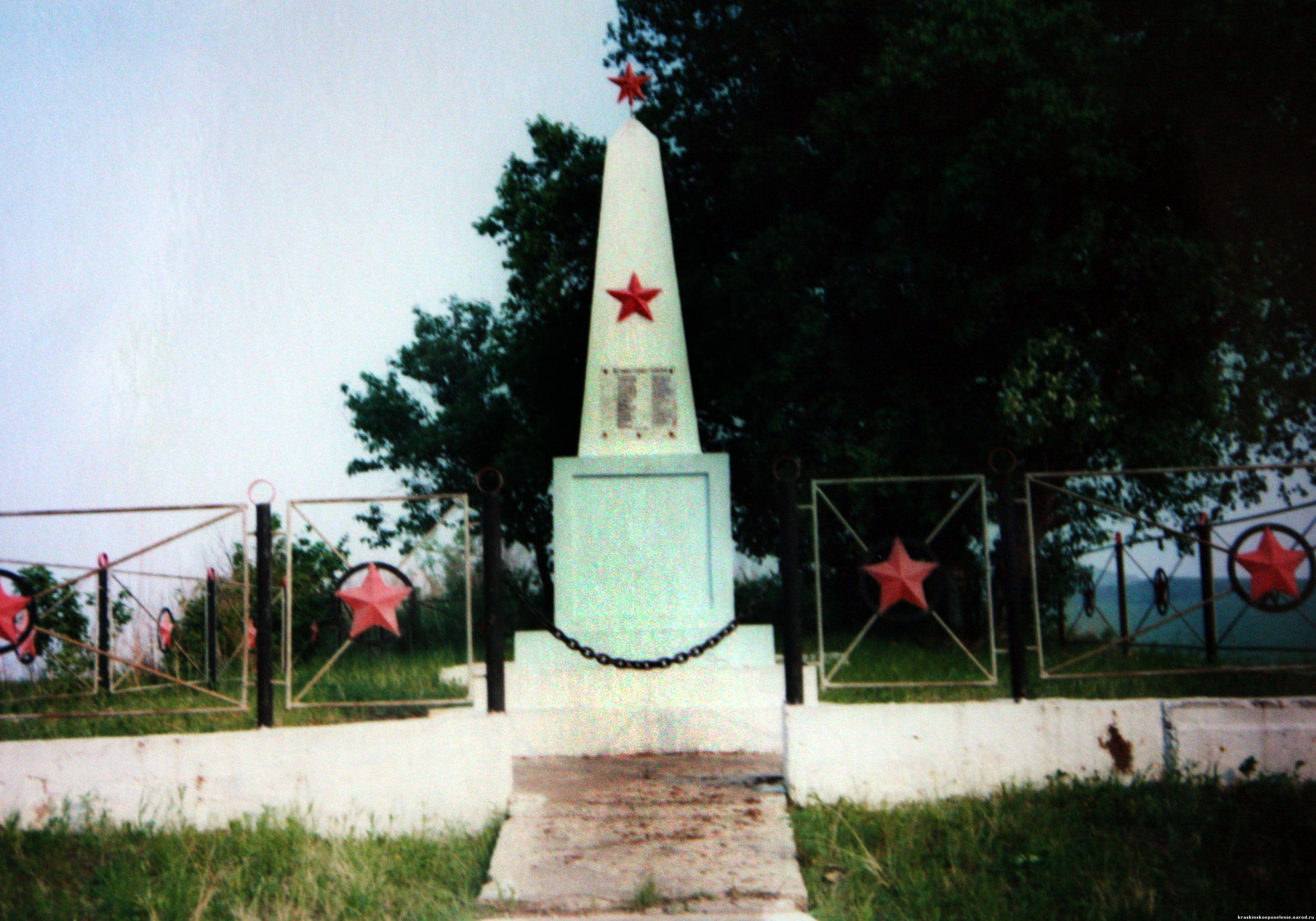 Братская могила с.Маячное